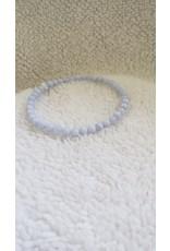 4 mm Bracelet | Blue Lace Agate