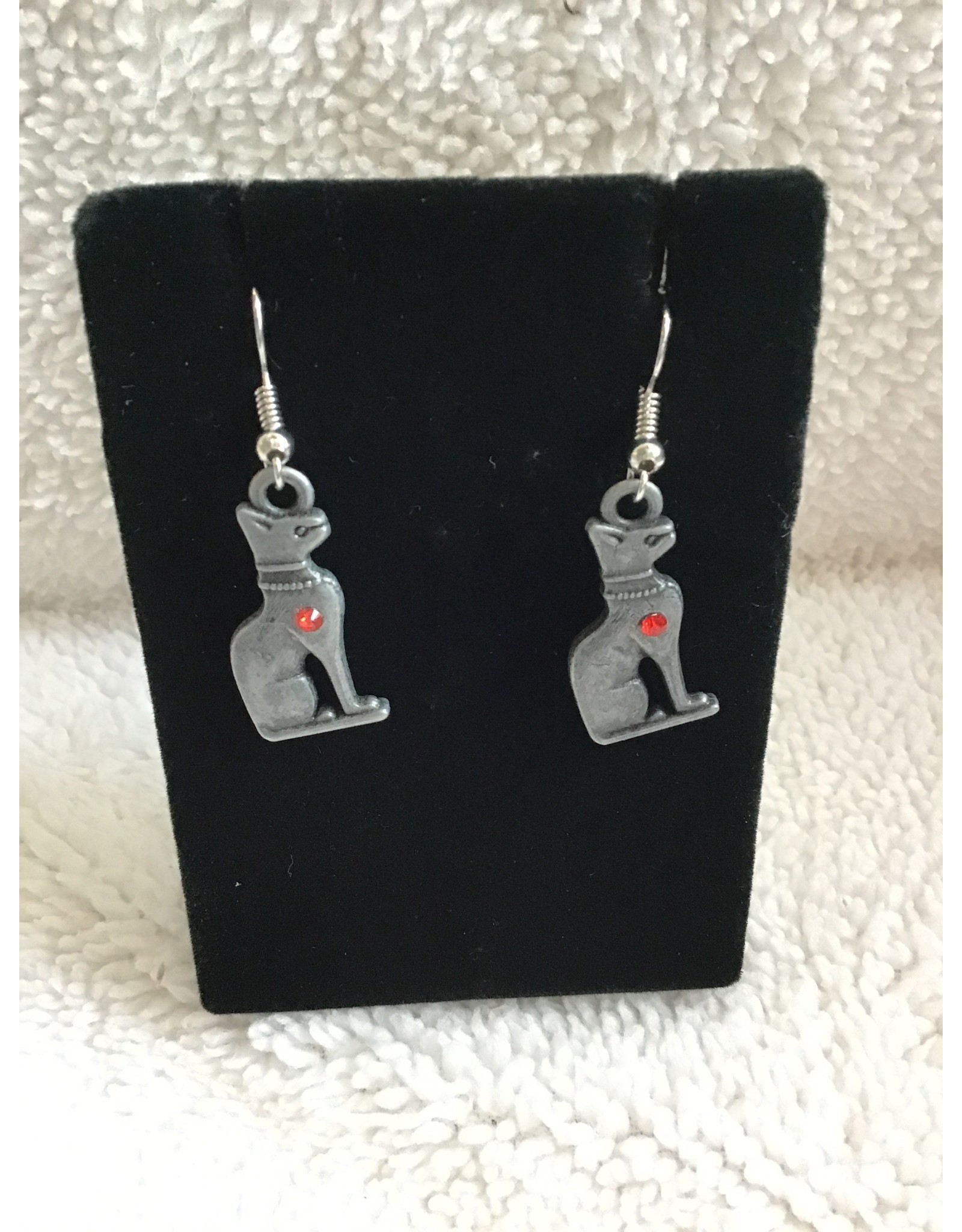 Angel Vaughan Egyptian Cat Earrings