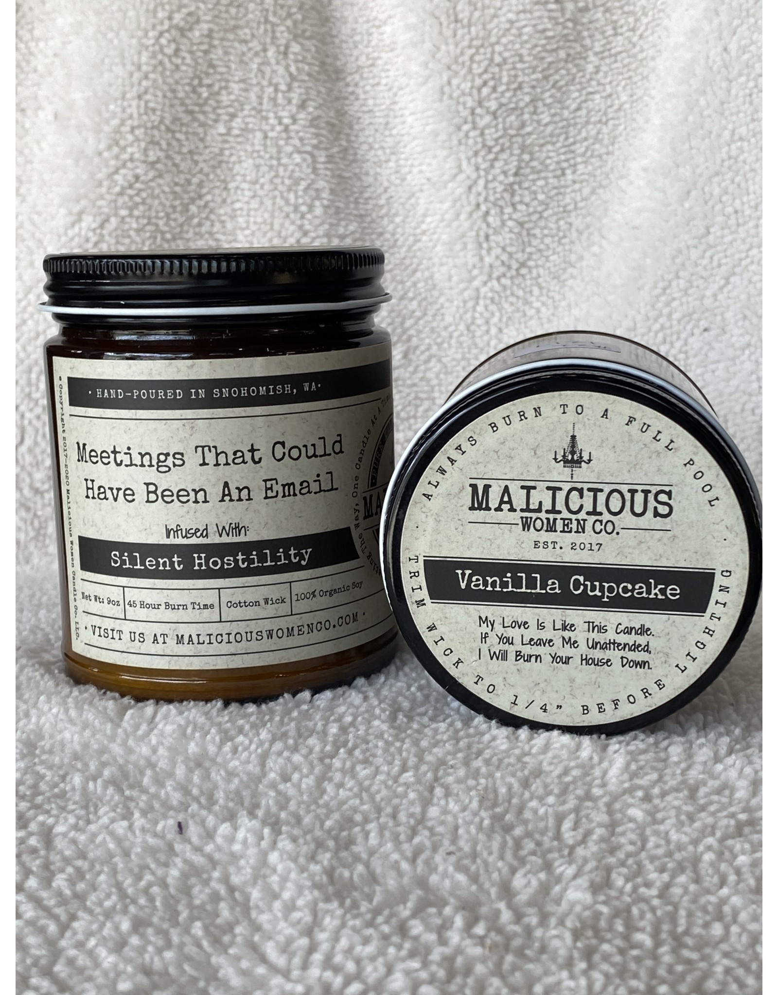"""Malicious Woman Candle Co. Meetings That Could Have Been An Email 