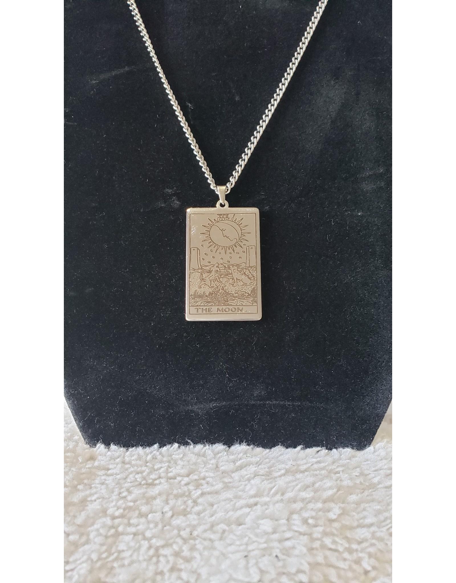 Todd Vonstein Assorted Silver Tarot Card Necklaces