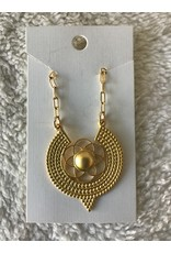 Seed of Life Necklace   Gold