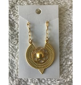 Seed of Life Necklace | Gold