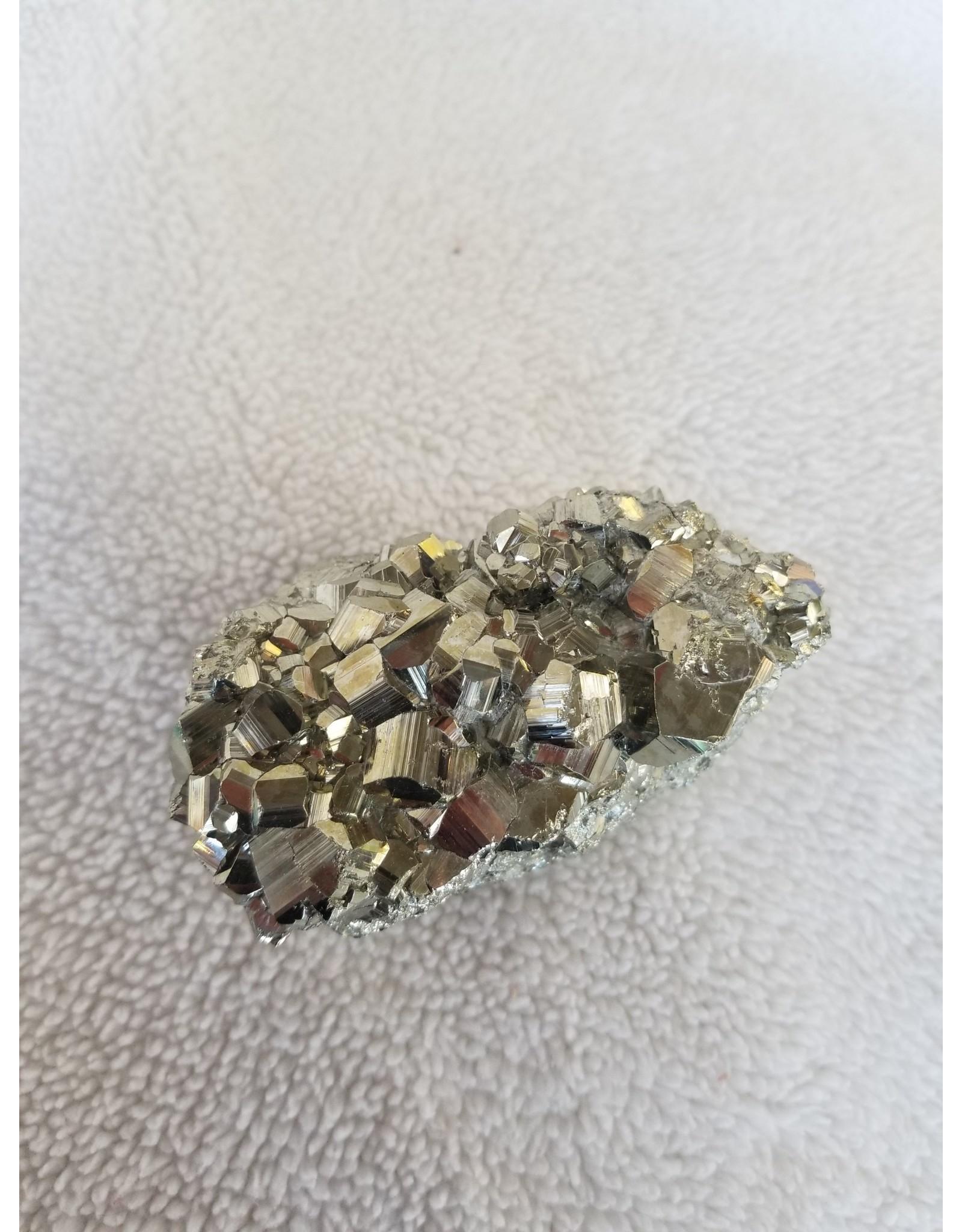 Pikes Peak Rock Shop Pyrite Cluster