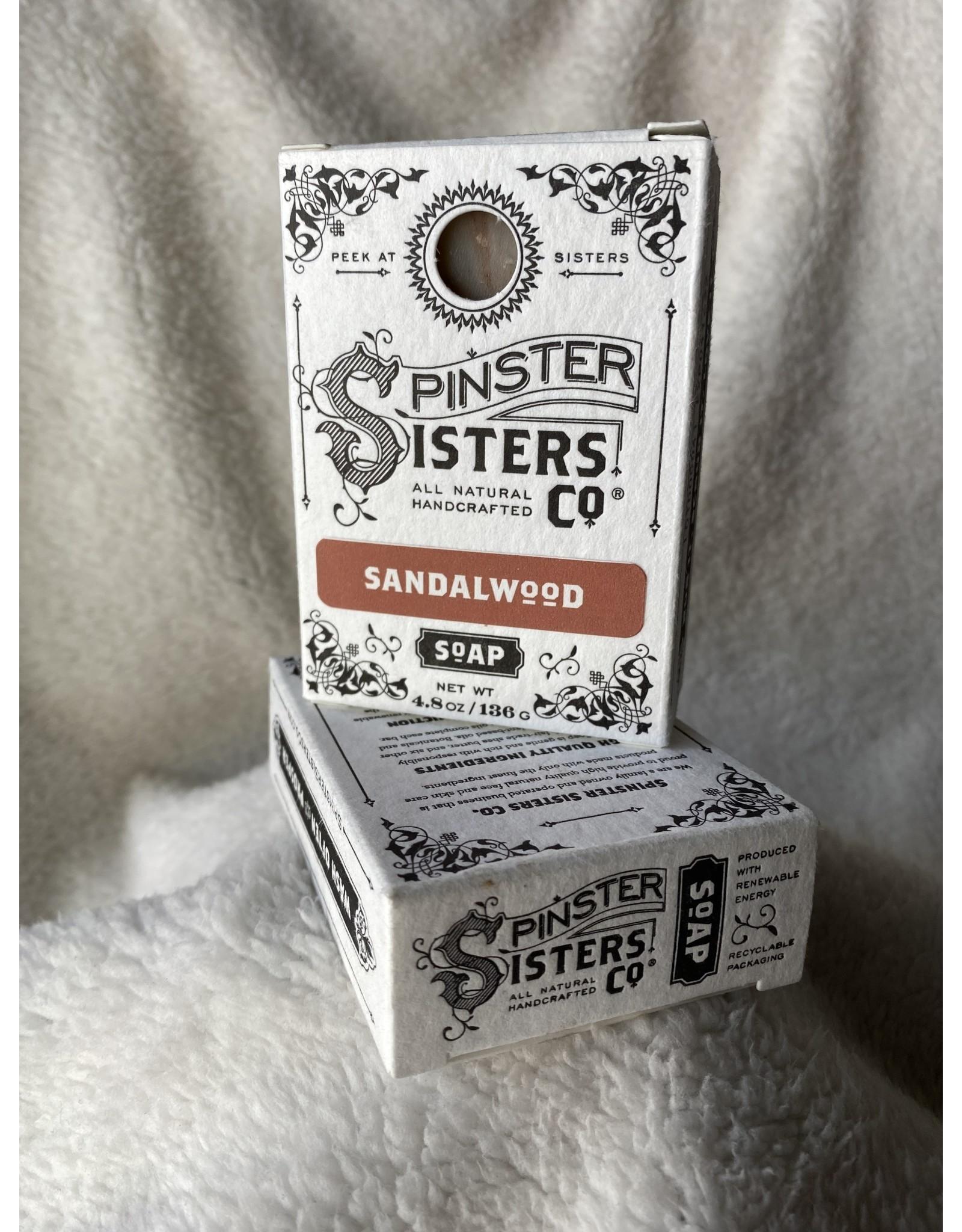 Spinster Sisters Co. 4.8 oz. Soap Bar   Sandalwood