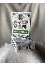 Spinster Sisters Co. 4.8 oz. Soap Bar   Sage & Cedar