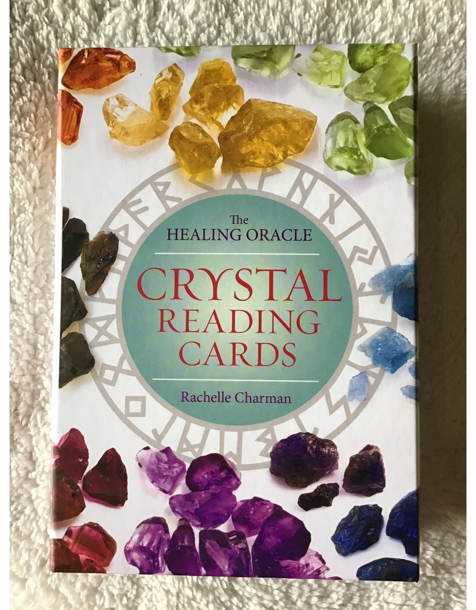 The Healing Oracle   Crystal Reading Cards