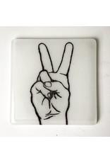 Peace Sign - Single Coaster