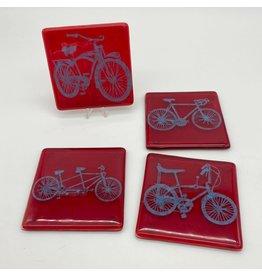 Kiku Handmade Bikes Coaster 4 - Pack