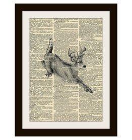 Unique Art Pendants Deer Art Print