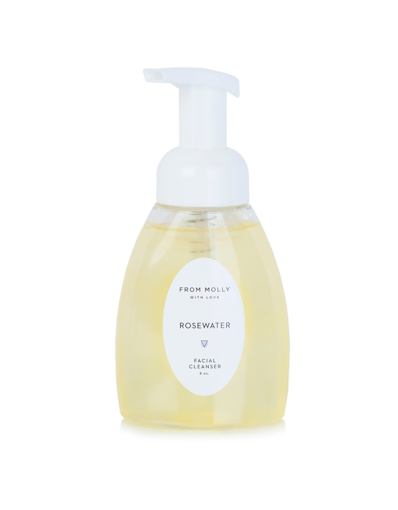 From Molly With Love Rosewater Facial Cleanser - 8 oz.
