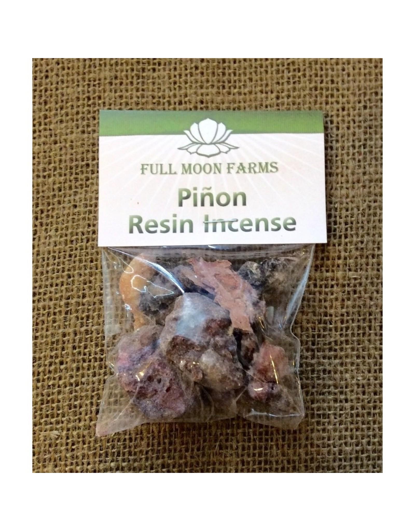 Full Moons Farms Resin Incense | Piñon