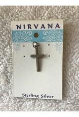 Simple Cross Silver Md