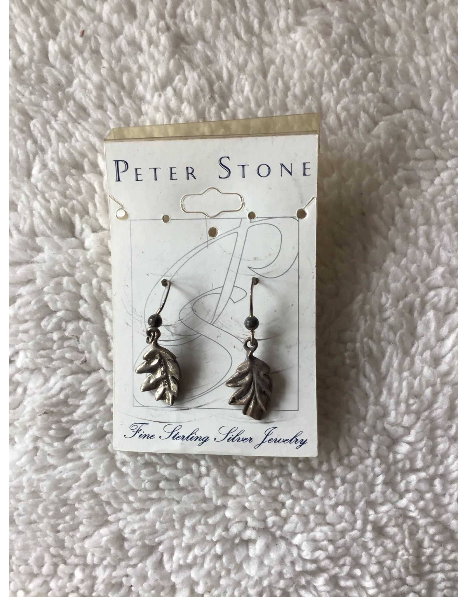 Oak Leaf Dangle Earrings