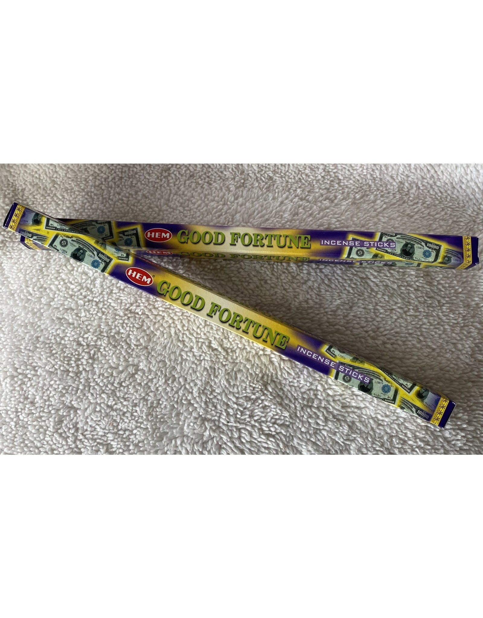 Hem Good Fortune Incense