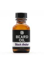 Wet Shaving Products Beard Oil 1 oz.   Black Amber