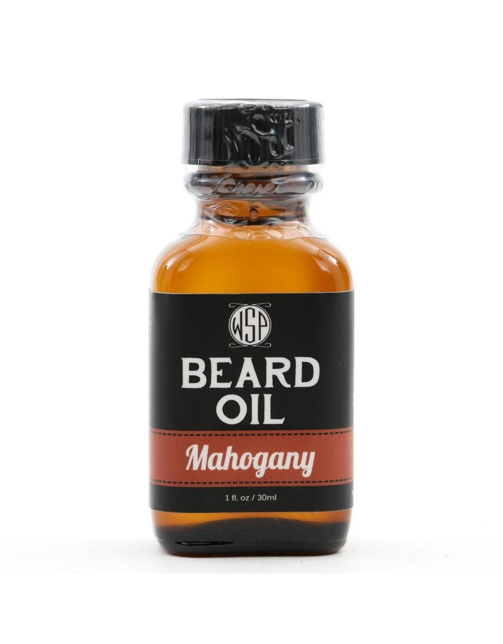 Wet Shaving Products Beard Oil 1 oz.   Mahogany