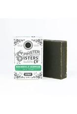 Spinster Sisters Co. Oakmoss & Seaweed Face Soap - .9 oz. Travel Bar