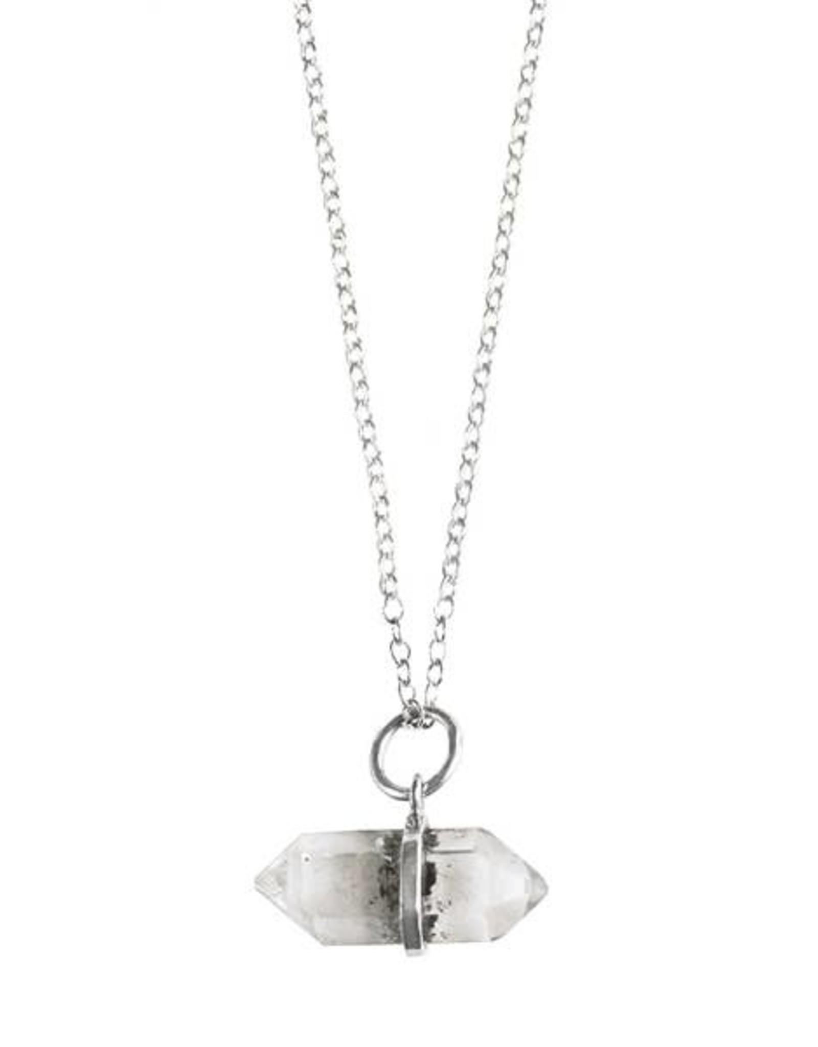 """16"""" Tiny Herkimer Diamond Necklace"""