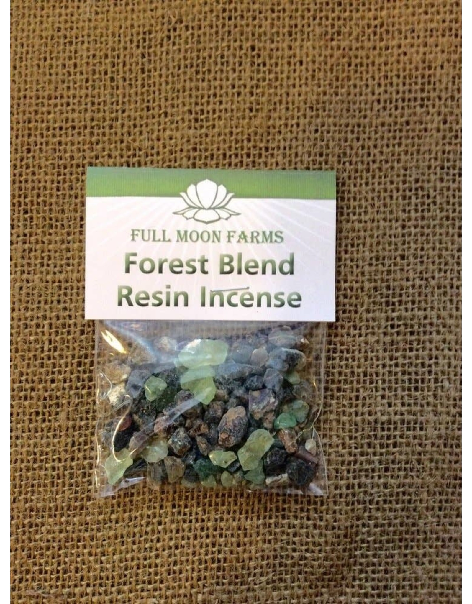 Full Moons Farms Resin Incense   Forest Blend