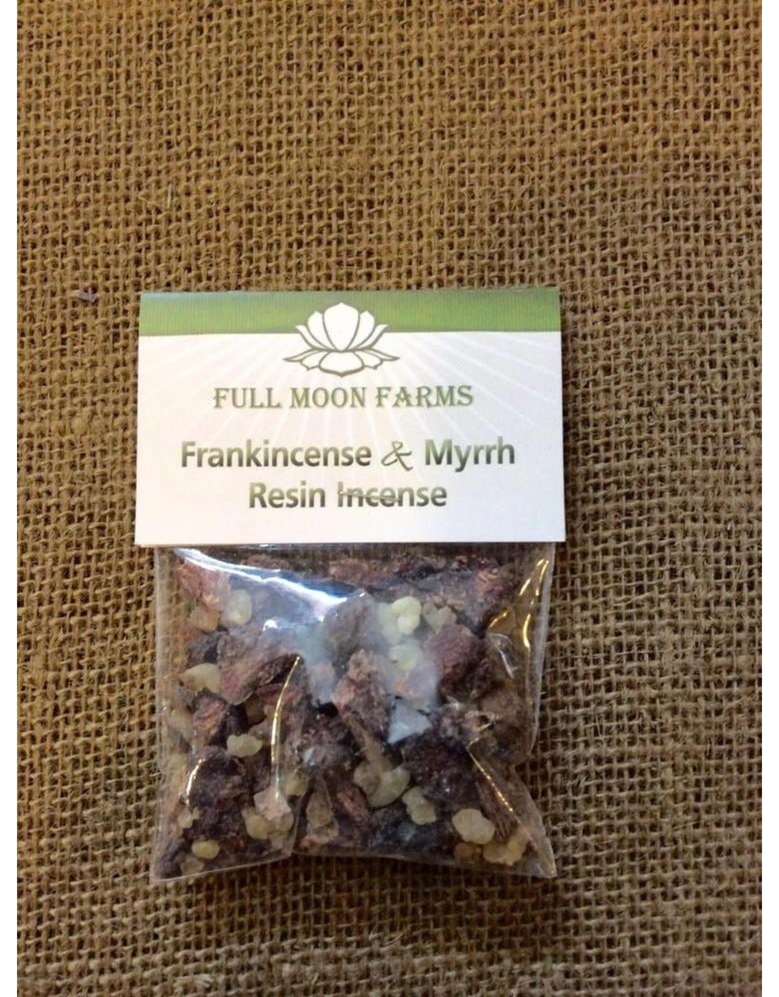 Full Moons Farms Resin Incense | Frankincense & Myrrh