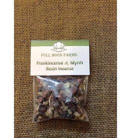 Full Moons Farms Resin Incense   Frankincense & Myrrh
