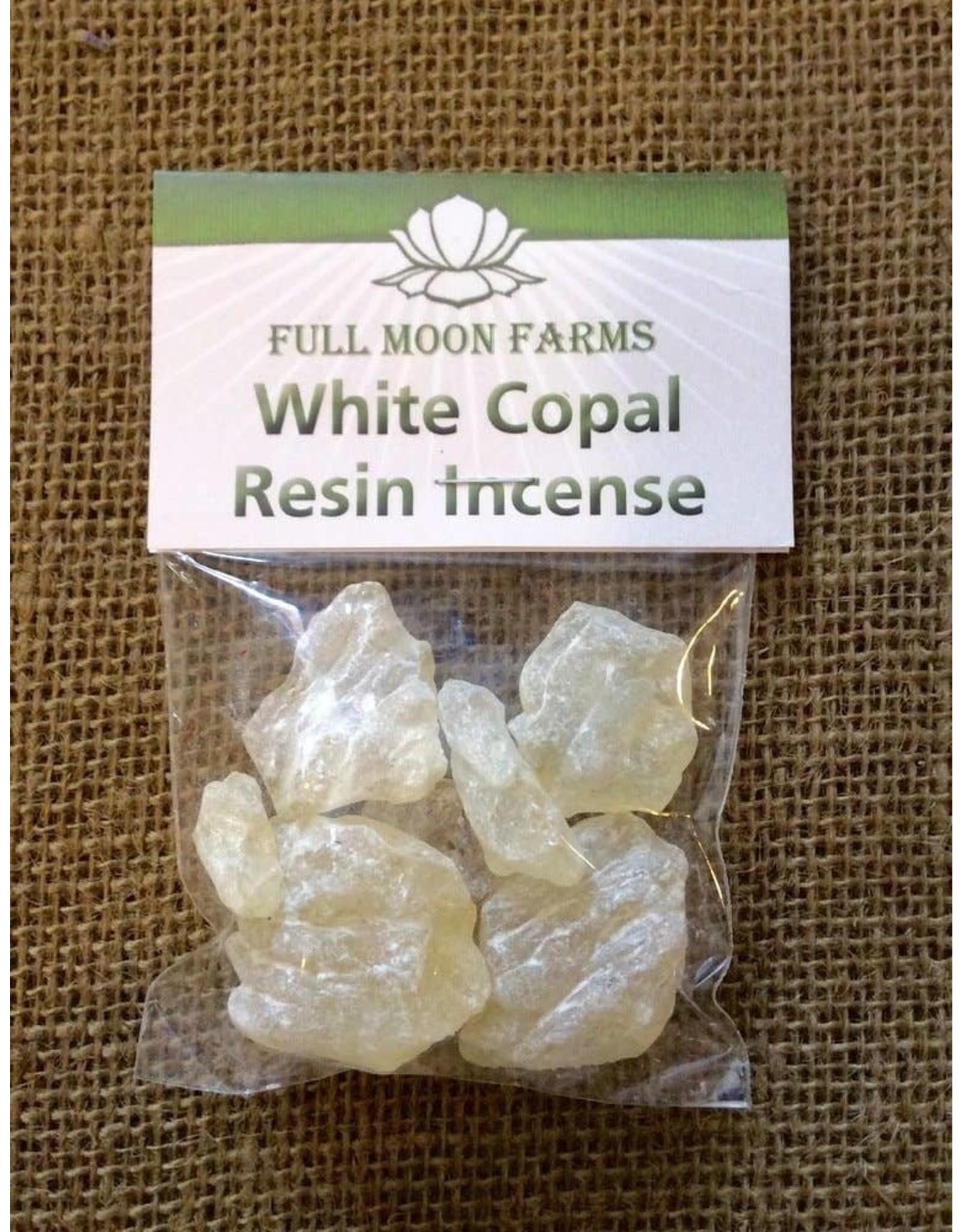 Full Moons Farms Resin Incense   White Copal