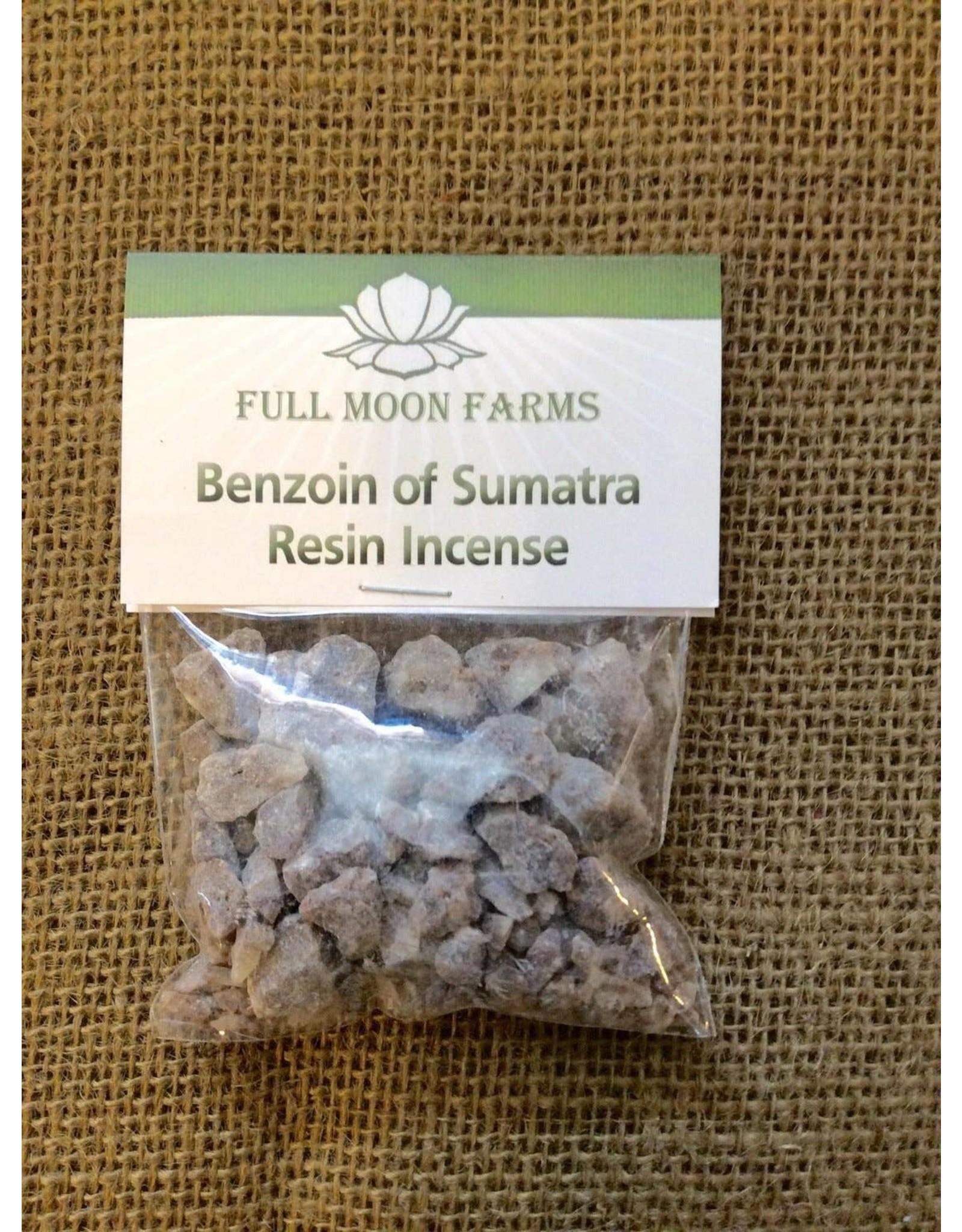 Full Moons Farms Resin Incense   Benzoin of Sumatra