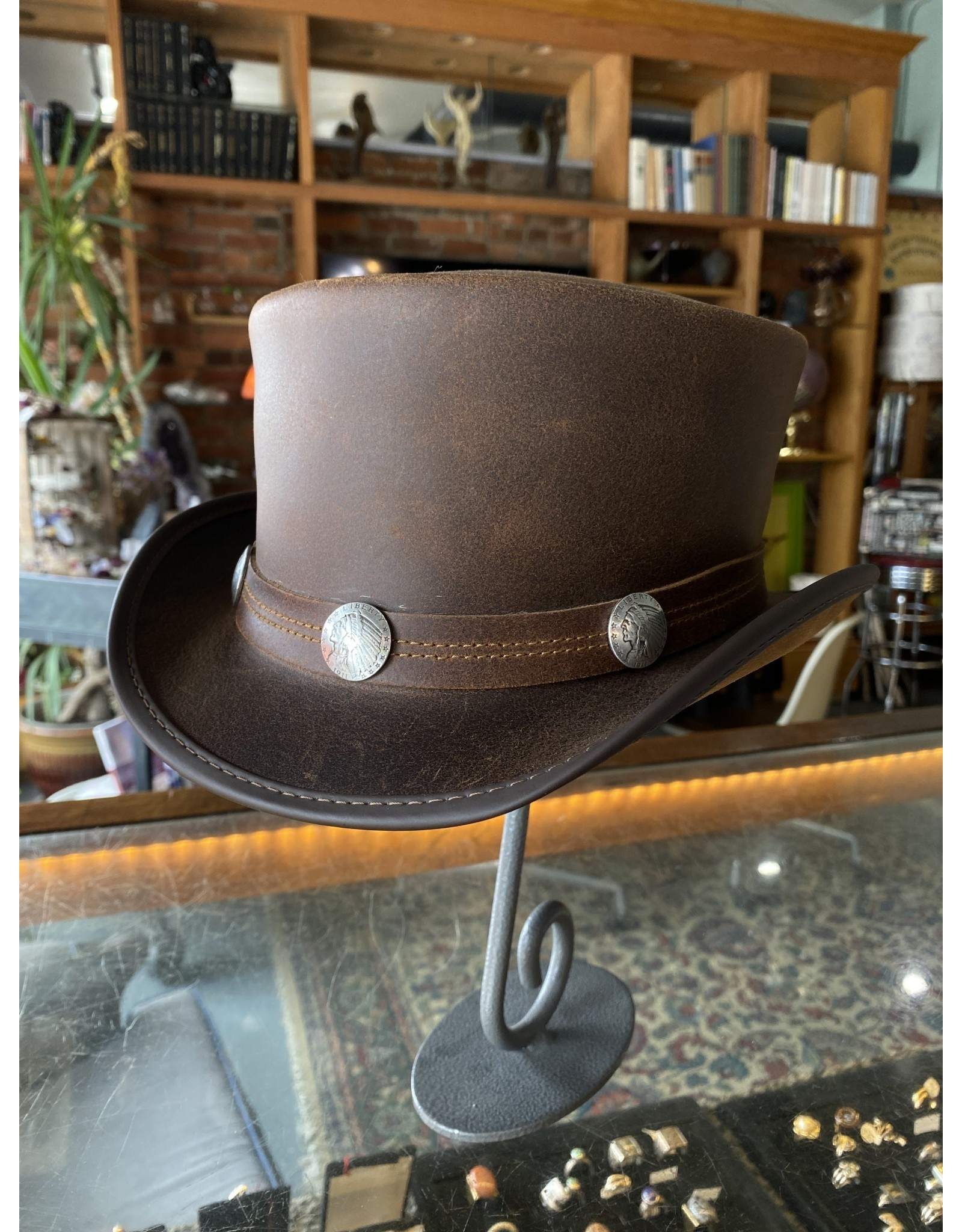 Marlow Hat, Brown - Chief Band, Large