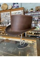 Marlow Unbanded Hat, Brown - Large