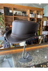 Bromley Hat, Brown Carriage Band - Large