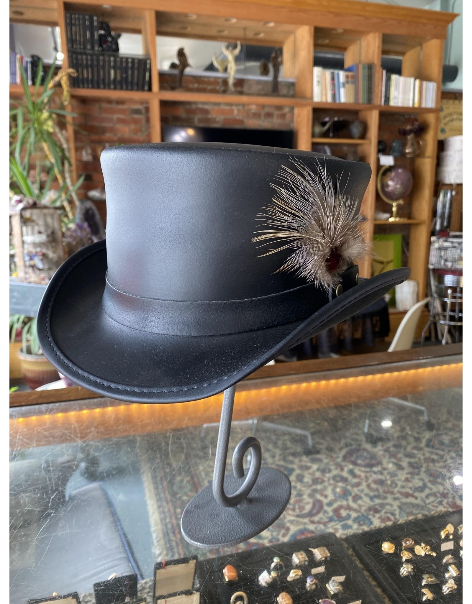 Marlow Hat Banded,  Black - Medium