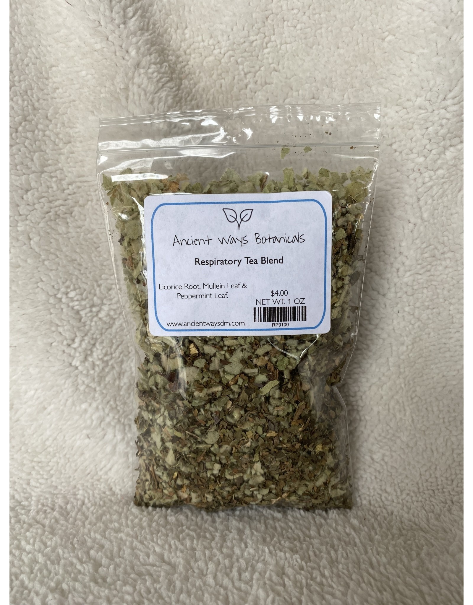 Respiratory Tea Blend - 1 oz.