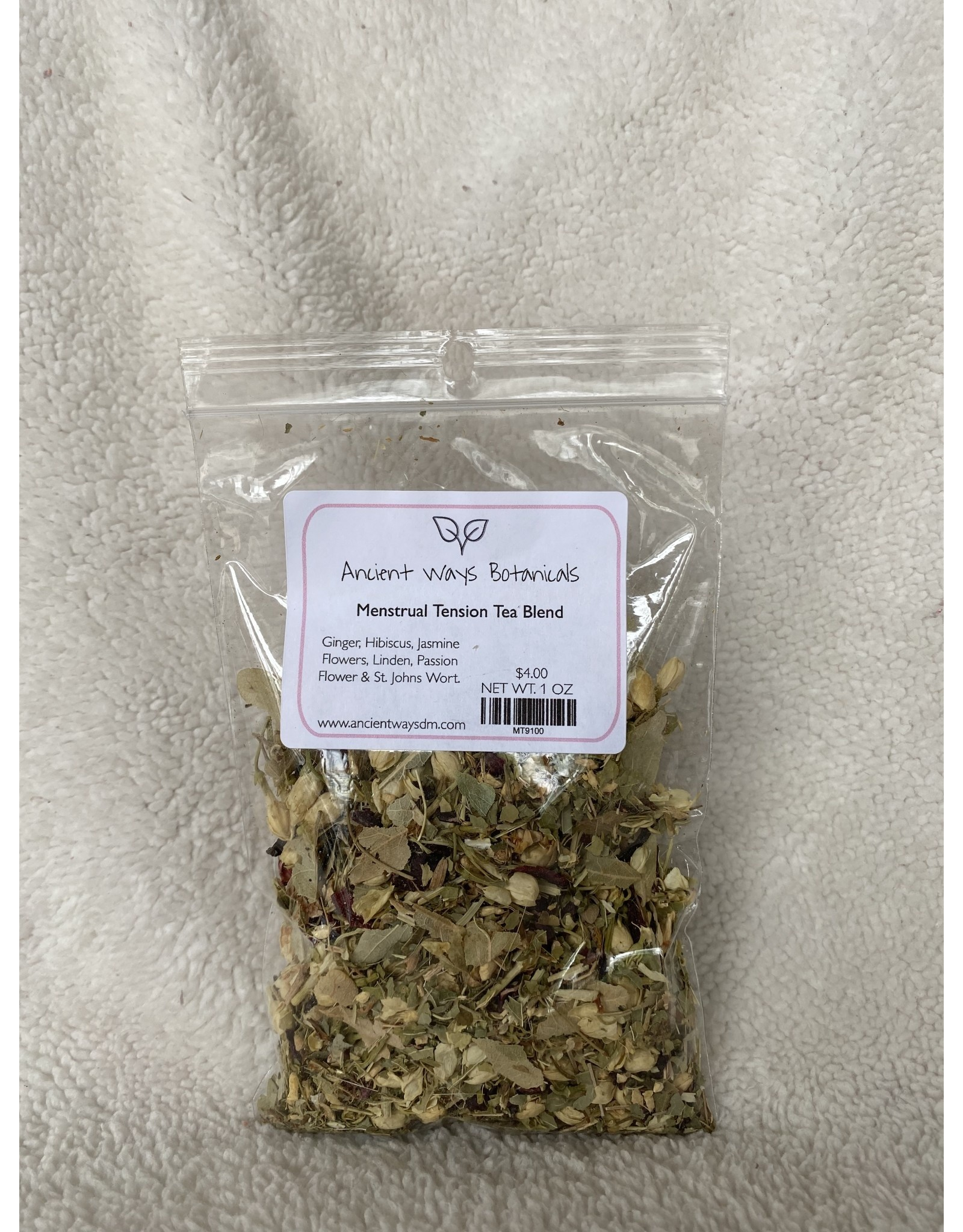 Menstrual Tension Tea Blend - 1 oz.