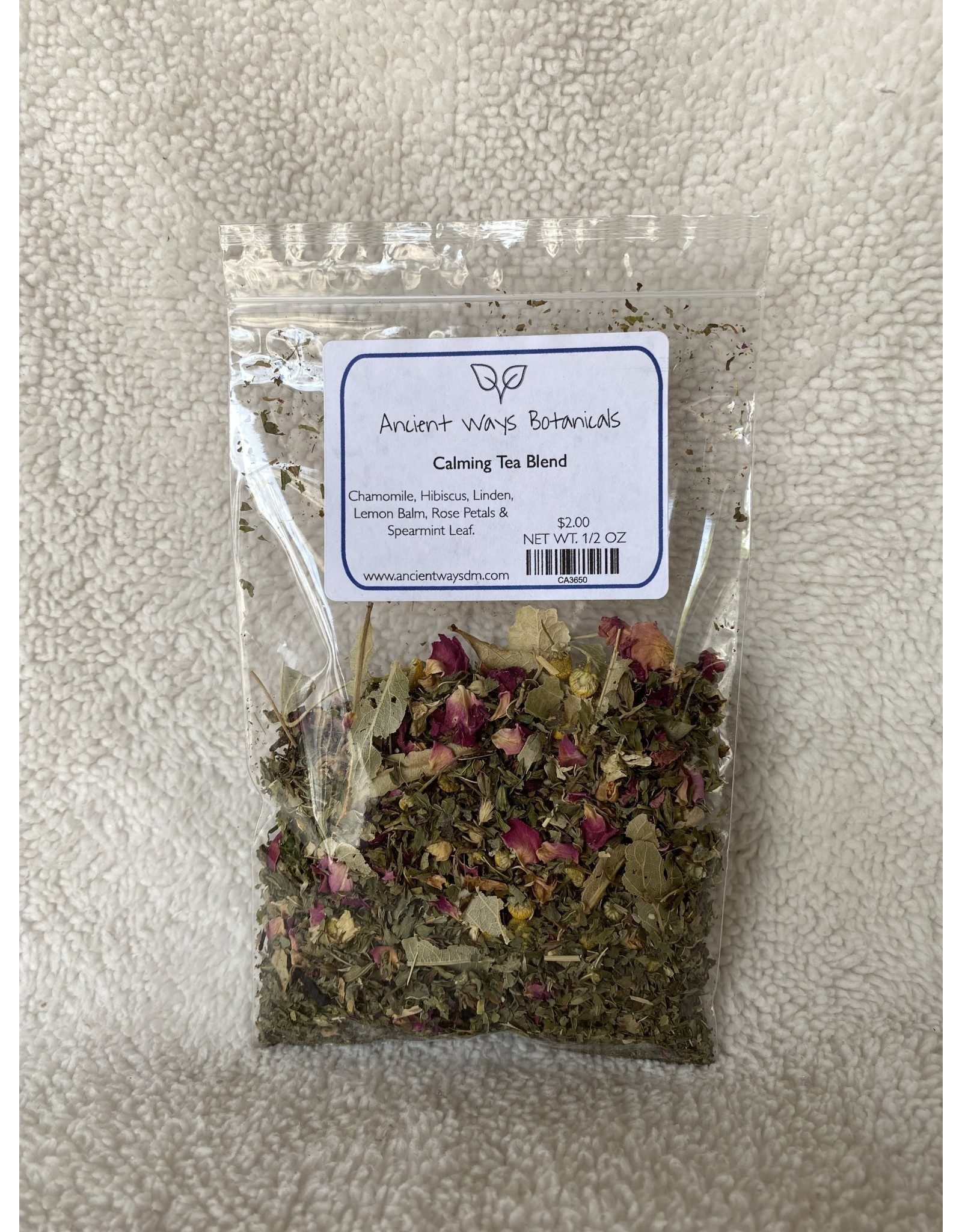 Calming Tea Blend - 1/2 oz.