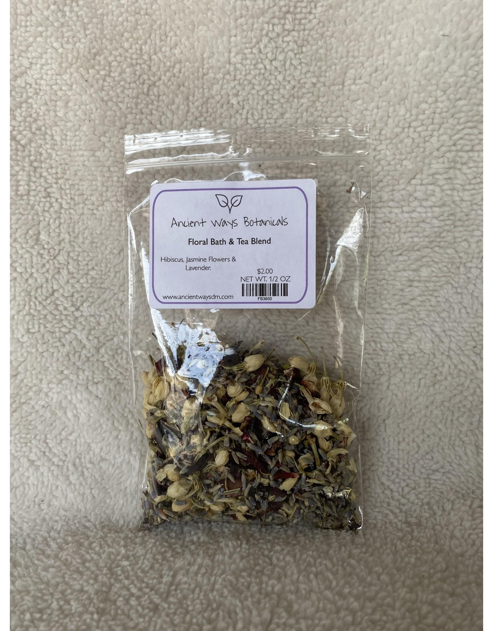 Floral Tea & Bath Blend - 1/2 oz.