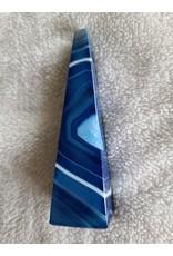 Large Agate Obelisk | Blue