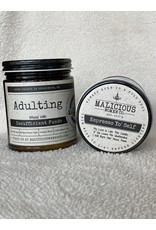"""Malicious Woman Candle Co. Adulting   Infused With """" Insufficient Funds """" Scent: Espresso Yo' Self"""
