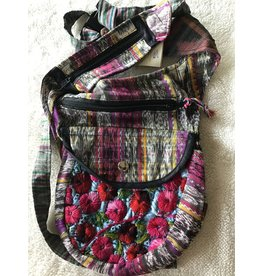 Upcycled Hipster Cross Body Pack