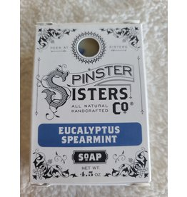 Spinster Sisters Co. 4.5 oz. Soap Bar   Eucalyptus Spearmint