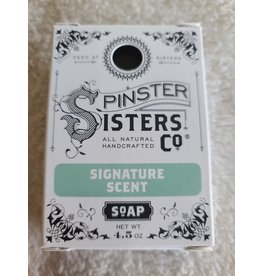 Spinster Sisters Co. 4.5 oz. Soap Bar   Signature Scent