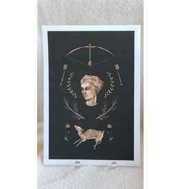 "' 8 x 12"" Artemis Print"