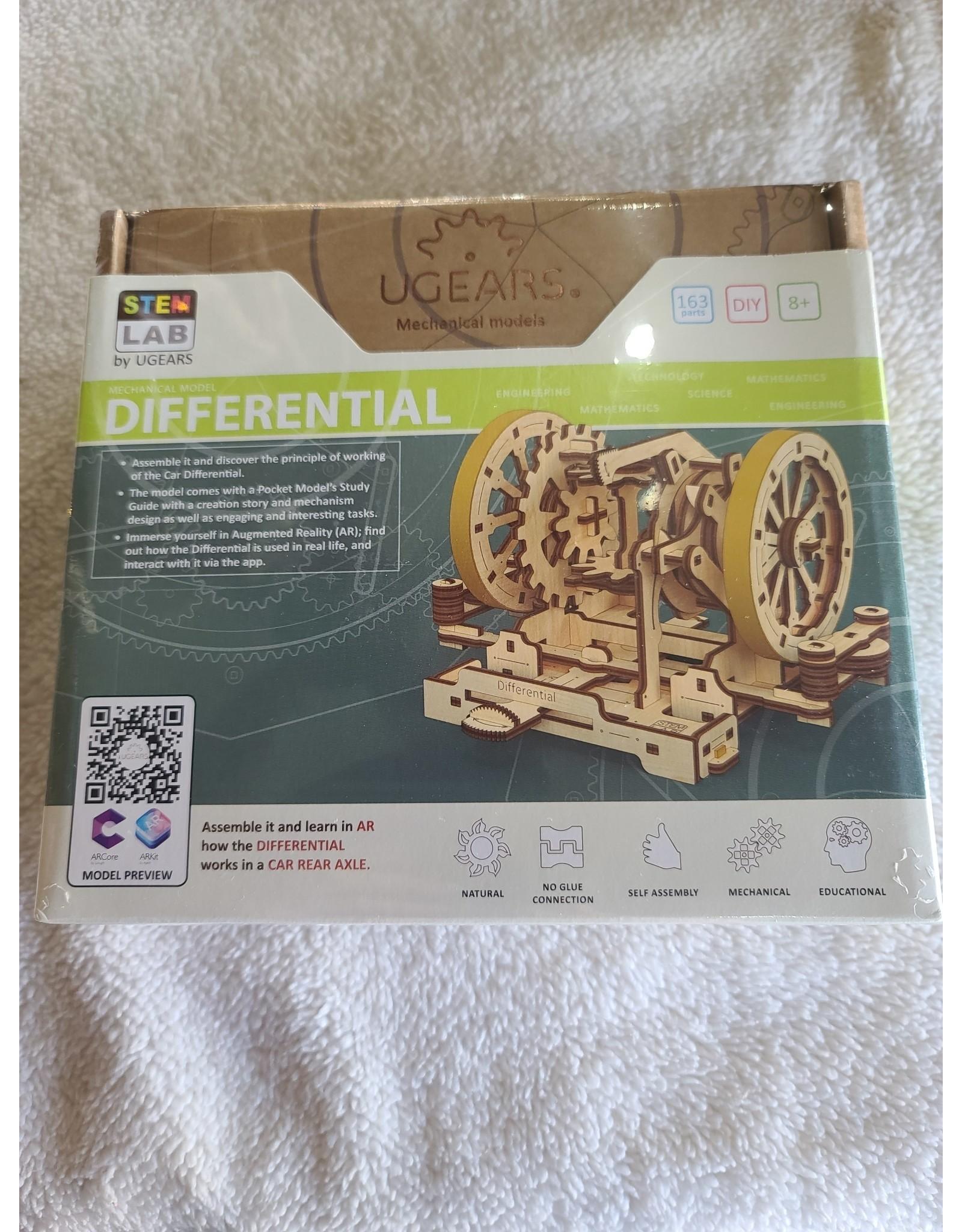 3D Wooden Model | STEM Lab Differential