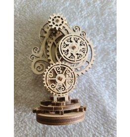 3D Wooden Model   Steampunk Clock