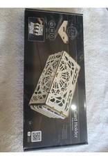 3D Wooden Model   Business Card Holder