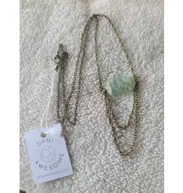 Dani Awesome Fluorite Drop Necklace