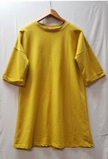 Jane Arpy Yellow Shirt Dress (L)