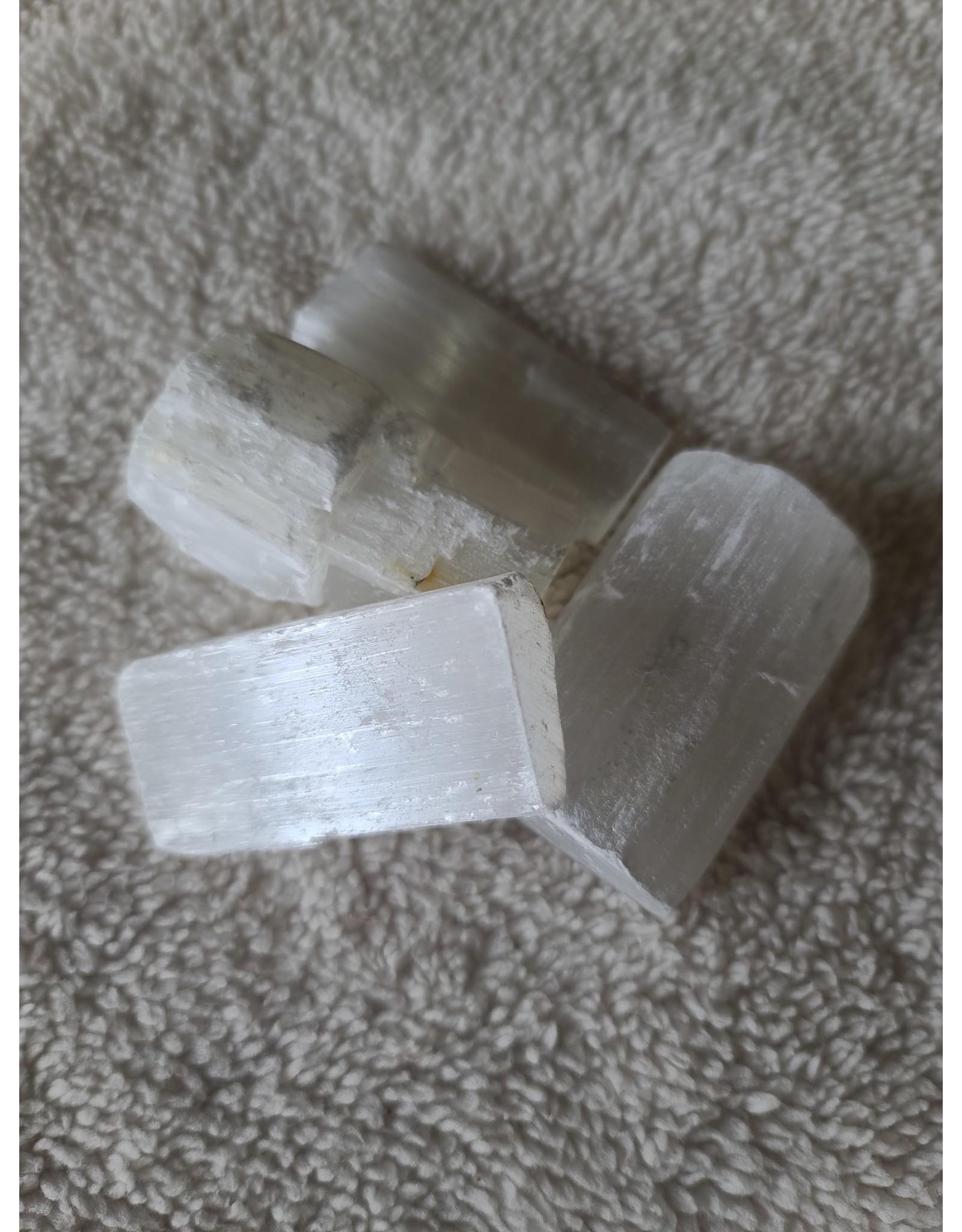 "Natural Selenite Sticks 2.75"" - 3"""