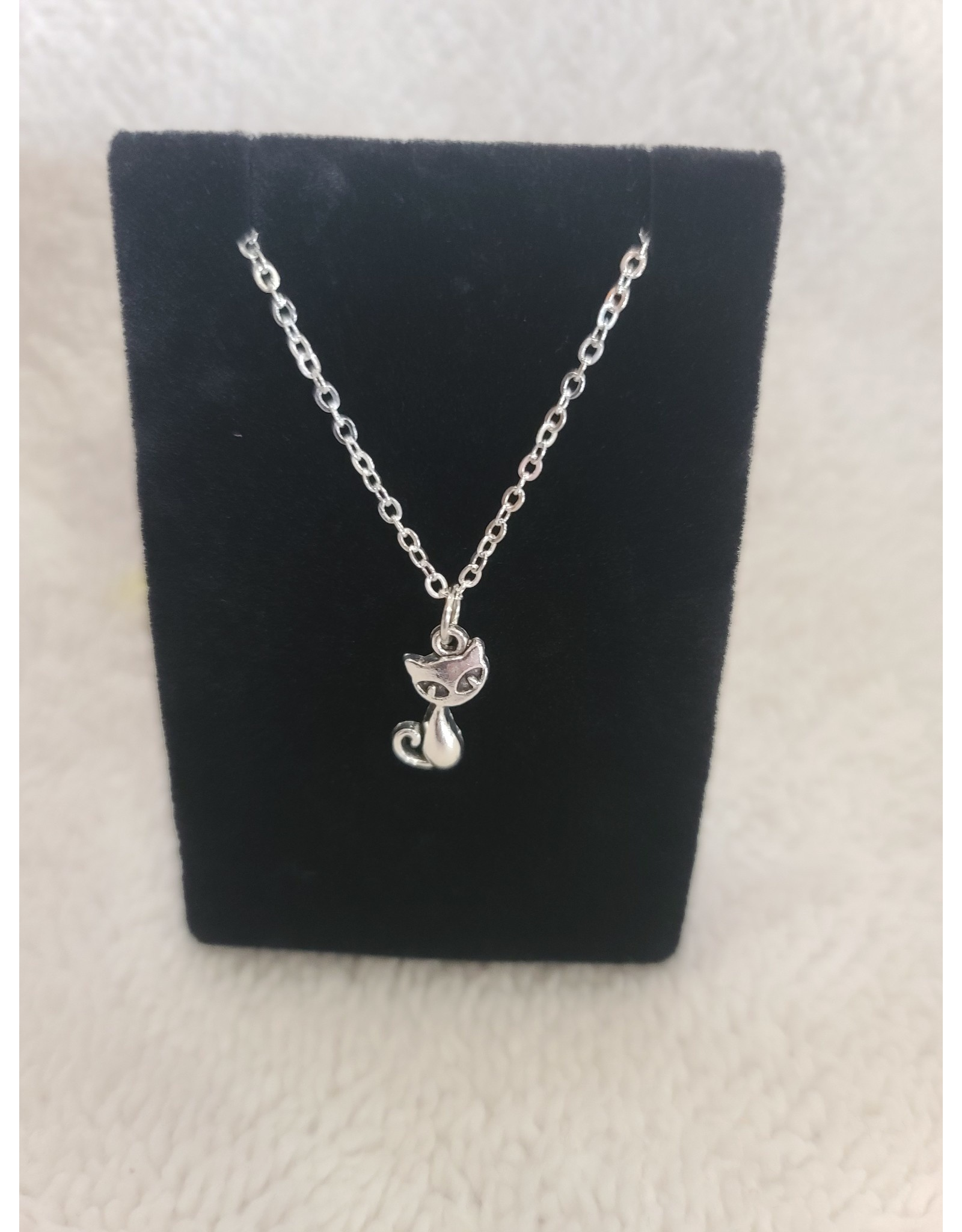 Angel Vaughan Cat Necklace