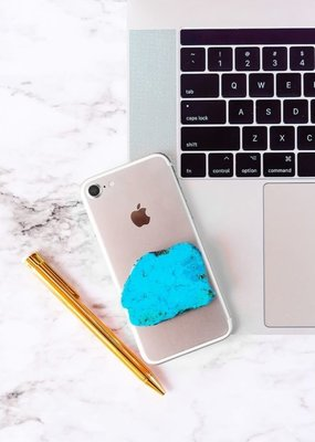 Matty & Lux Turquoise Stone Phone Grip