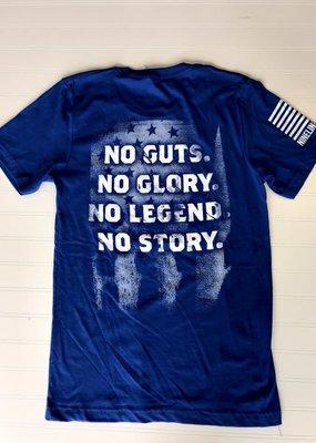 NINE LINE Nine Line No Guts No Glory - Royal Blue
